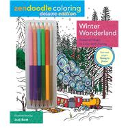 Zendoodle Coloring: Winter Wonderland Deluxe Edition with Pencils by Best, Jodi, 9781250112958
