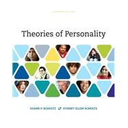Theories of Personality by Schultz, Duane P.; Schultz, Sydney Ellen, 9781305652958