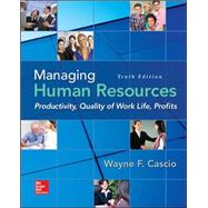 Managing Human Resources Productivity, Quality of Work Life, Profits by Cascio, Wayne, 9780078112959