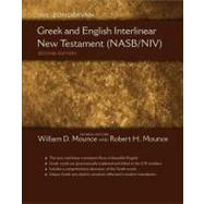 The Zondervan Greek and English Interlinear New Testament (NASB/NIV) by Mounce, William D., Ph.D.; Mounce, Robert H., Ph.D., 9780310492962