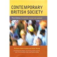 Contemporary British Society by Abercrombie, Nicholas; Warde, Alan; Deem, Rosemary; Penna, Sue; Soothill, Keith; Urry, John; Walby, Sylvia, 9780745622965