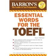 Barron's Essential Words for the Toefl by Matthiesen, Steven J., 9781438002965