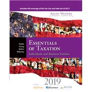 South-Western Federal Taxation 2019 Essentials of Taxation: Individuals and Business Entities (with Intuit ProConnect Tax Online 2017 + RIA CheckPoint 1 term (6 months) Printed Access Card) by Raabe, William A.; Young, James C.; Nellen, Annette; Maloney, David M., 9781337702966