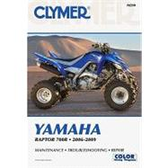 Clymer Yamaha Raptor 700r 2006-2009 by Morlan, Mike, 9781599692968