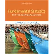 Fundamental Statistics for the Behavioral Sciences by Howell, David C., 9781305652972