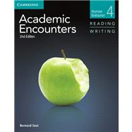 Academic Encounters Human Behavior Level 4 by Seal, Bernard, 9781107602977