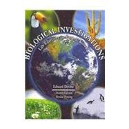 Biological Investigations: Lab Exercises For General Biology by Devine, Edward, 9780757552984
