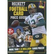 Beckett Football Card Price Guide 2011-12 by Hitt, Dan, 9781930692985