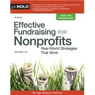 Effective Fundraising for Nonprofits by Bray, Ilona, 9781413322989