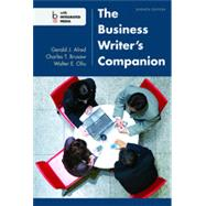 The Business Writer's Companion by Alred, Gerald J.; Brusaw, Charles T.; Oliu, Walter E., 9781457632990