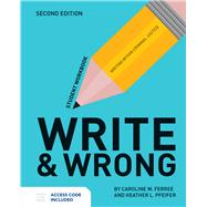 Write & Wrong by Ferree, Caroline W.; Pfeifer, Heather, 9781284112993
