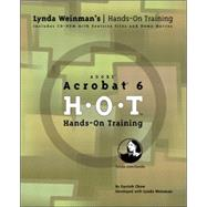Adobe Acrobat 6 Hands-On Training by Chow, Garrick, 9780321202994