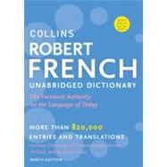 Collins Robert French Dictionary / Le Robert & Collins Dictionnaire: Francais-anglais / Anglais-francais by HarperCollins Publishers, 9780061962998