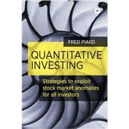 Quantitative Investing by Piard, Fred, 9780857193001