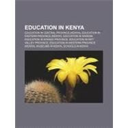 Education in Keny : Machakos Institute of Technology, Kenya Institute of Social Work and Community Development by , 9781156833001