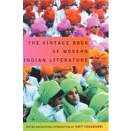 The Vintage Book of Modern Indian Literature at Biggerbooks.com
