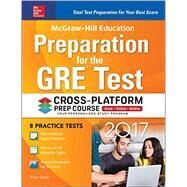 McGraw-Hill Education Preparation for the GRE Test 2017 Cross-Platform Prep Course by Geula, Erfun, 9781259643002