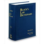 Black's Law Dictionary by Garner, Bryan A., 9780314613004
