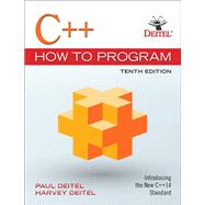 C++ How to Program Plus MyProgrammingLab with Pearson eText -- Access Card Package by Deitel, Paul J.; Deitel, Harvey, 9780134583006