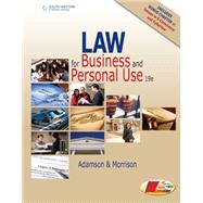 Law for Business and Personal Use by Adamson, John E.; Morrison, Amanda, 9781305653009