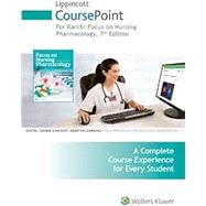 Lippincott CoursePoint+ for Karch: Focus on Nursing Pharmacology by Amy Karch RN, MS, 9781496353009