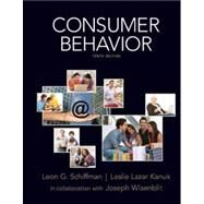 Consumer Behavior by Schiffman, Leon; Kanuk, Leslie, 9780135053010