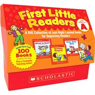 First Little Readers: Guided Reading Level A A Big Collection of Just-Right Leveled Books for Beginning Readers by Schecter, Deborah, 9780545223010