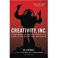 Creativity, Inc. by CATMULL, EDWALLACE, AMY, 9780812993011