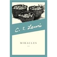 Miracles by C. S. Lewis, 9780060653019