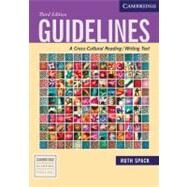 Guidelines: A Cross-Cultural Reading/Writing Text by Ruth Spack, 9780521613019