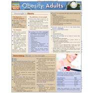 Obesity: Adults Laminated Reference Guide by Beseler, Lucille, 9781423203025