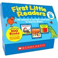 First Little Readers: Guided Reading Level B A Big Collection of Just-Right Leveled Books for Beginning Readers by Charlesworth, Liza, 9780545223027