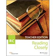 Reading Closely Teacher Handbook, Grades 6-12 by Odell Education, 9781119193029