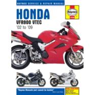 Haynes Honda VFR800 VTEC '02 to '09 Service and Repair Manual by Coombs, Matthew, 9781785213038