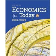 Economics for Today by Tucker, Irvin B., 9781337613040