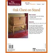 Fine Woodworking's Oak Chest on Stand Plan by Rodriguez, Mario, 9781631863042