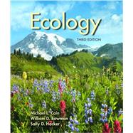 Ecology 3e loose leaf version by Cain, Bowman, Hacker, 9781605353050