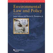 Environmental Law and Policy by Salzman, James; Thompson, Barton H., Jr., 9781609303051