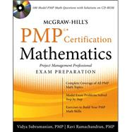 McGraw-Hill's PMP Certification Mathematics with CD-ROM by Subramanian, Vidya; Ramachandran, Ravi, 9780071633055