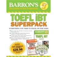 Barron's Toefl i Superpack by Sharpe, Pamela J., 9781438093055