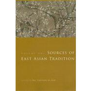 Sources of East Asian Tradition by De Bary, William Theodore, 9780231143059