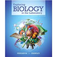 Exploring Biology in the Laboratory, 2e, Volume 1 by Pendarvis, Murray P.; Crawley, John L., 9781617313059
