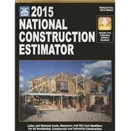 National Construction Estimator 2015 by Pray, richard, 9781572183063