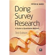 Doing Survey Research by Peter Nardi, 9781612053066