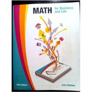 Math for Business & Life by John Webber, 9780976993070