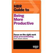 Hbr Guide to Being More Productive by Harvard Business Review, 9781633693081