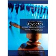 Introduction to Advocacy by Crovetto, Alisha; Sekoski, Joshua, 9781609303082