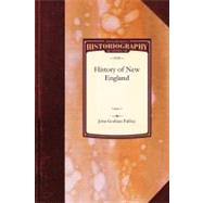 History of New England by Palfrey, John, 9781429023085
