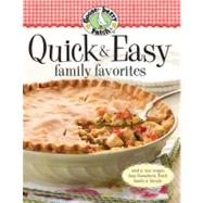 Gooseberry Patch Quick & Easy Family Favorites by Gooseberry Patch, 9780848733087
