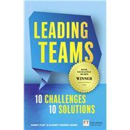 Leading Teams - 10 Challenges 10 Solutions by Flint, Mandy; Vinberg Hearn, Elisabet, 9781292083087